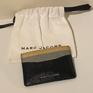Marc Jacobs Gold/Silver Card Holder